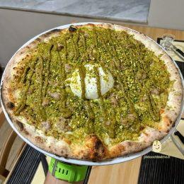 Pizza Pistacchissimo - Pizzeria Milù (Aci Bonaccorsi)