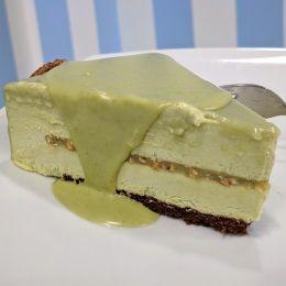 Torta al pistacchio 'Oro Verde' - ChocoFusion (Catania)