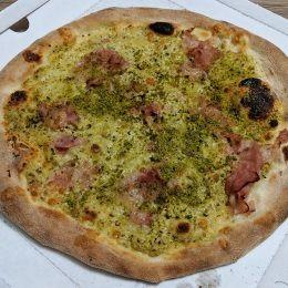 Pizza al Pistacchio - Pizzeria Espressa Serafino (Catania)