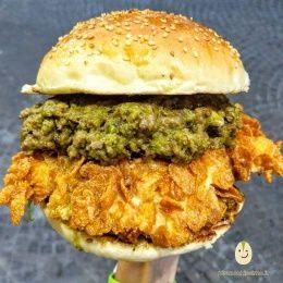 Hamburger al Pistacchio - N'Acchianata (Catania)