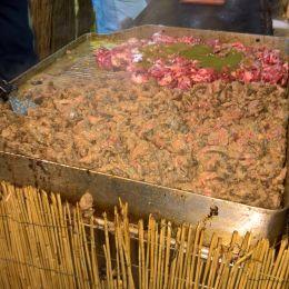 Straccetti di vitello al pistacchio