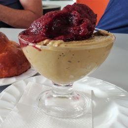 Granita al pistacchio - Café Sauvage (Catania)