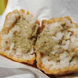 Arancino al pistacchio - Arancinissimi & Risottissimi (Catania)