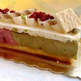 Torta gelato al pistacchio - Bar Carciola