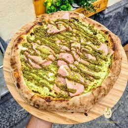 Pizza al Pistacchio - DoppioZero (Linguaglossa)