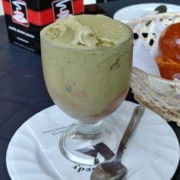 Granita al pistacchio - Bar Kennedy (Acireale)