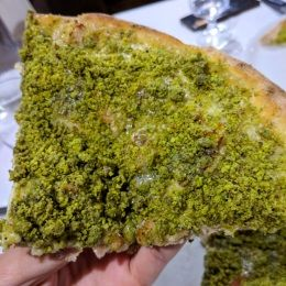 Pizza al Pistacchio - La Cava Rustica (Trecastagni)