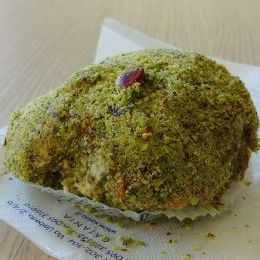 Tartufo al pistacchio - Pasticceria Savia (Catania)