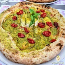 Pizza al Pistacchio - Sazi e Sani (Catania)