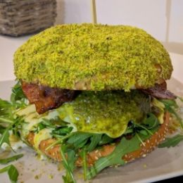 Panino Hamburger ''Pistacchissimo'' - Desy White (Giarre)