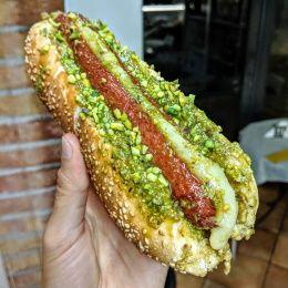 Hot Dog al Pistacchio - Caffettiamo (Pedara)